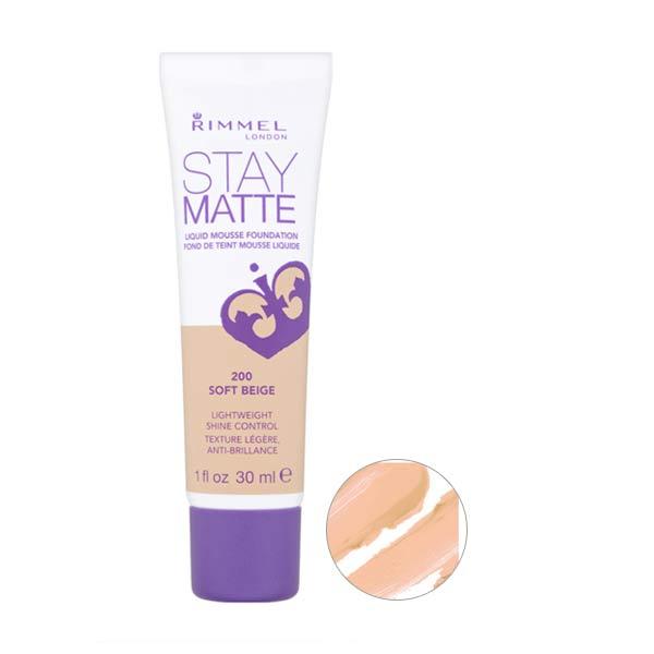 Rimmel Stay Matte Foundation Soft Beige