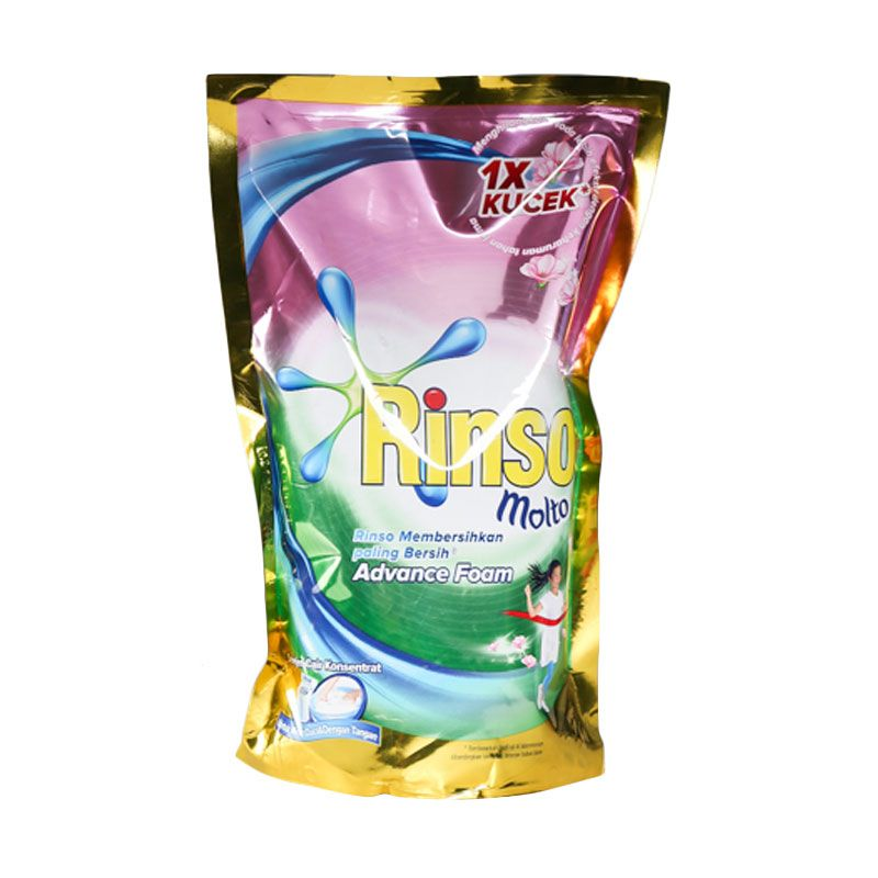 Rinso Molto Liquid Detergent Pouch [800 ml]