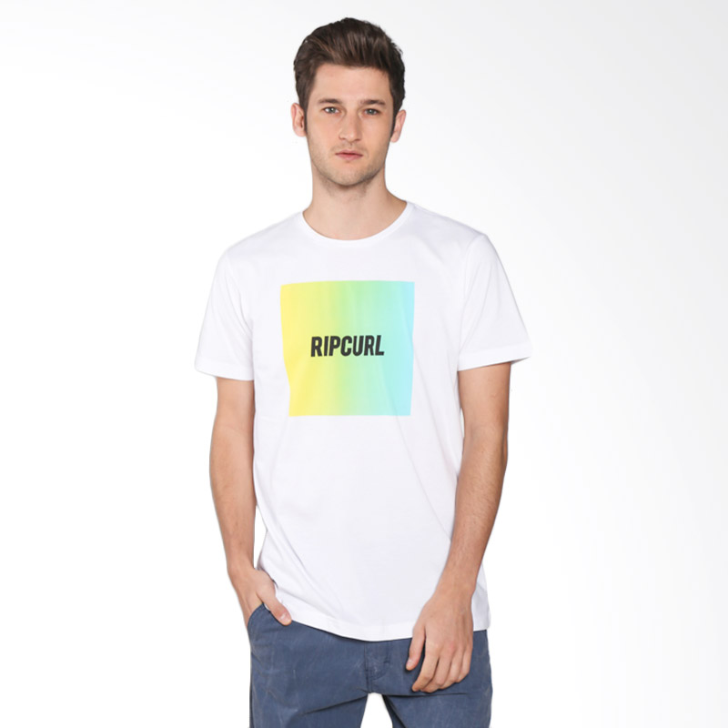 Rip Curl CTEEL9 1000 Flow Type Tee Man T-shirt - White Extra diskon 7% setiap hari Extra diskon 5% setiap hari Citibank – lebih hemat 10%