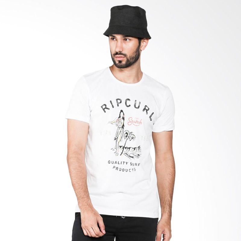Rip Curl Tee Island CTEKK1-10 White Kaos Pria Extra diskon 7% setiap hari Extra diskon 5% setiap hari Citibank – lebih hemat 10%
