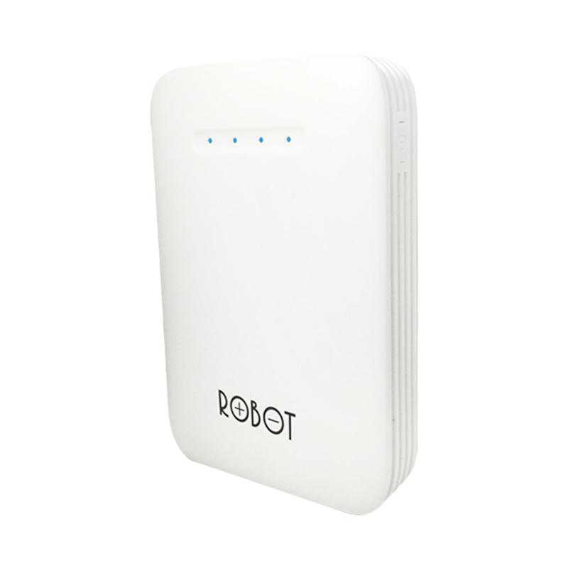 Robot RT6800 Original Powerbank - Putih [6600 mAh]