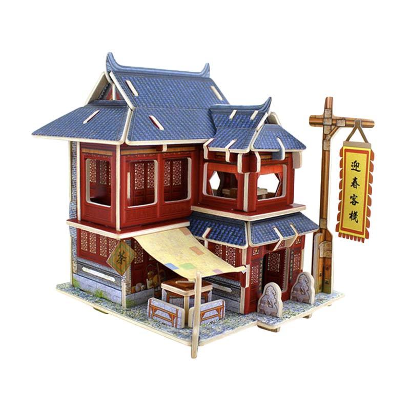 ROBOTIME  F128 Chinense Hotel Puzzles