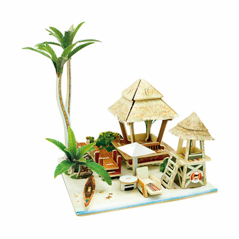 ROBOTIME F147 Sea Bali Mainan Puzzle
