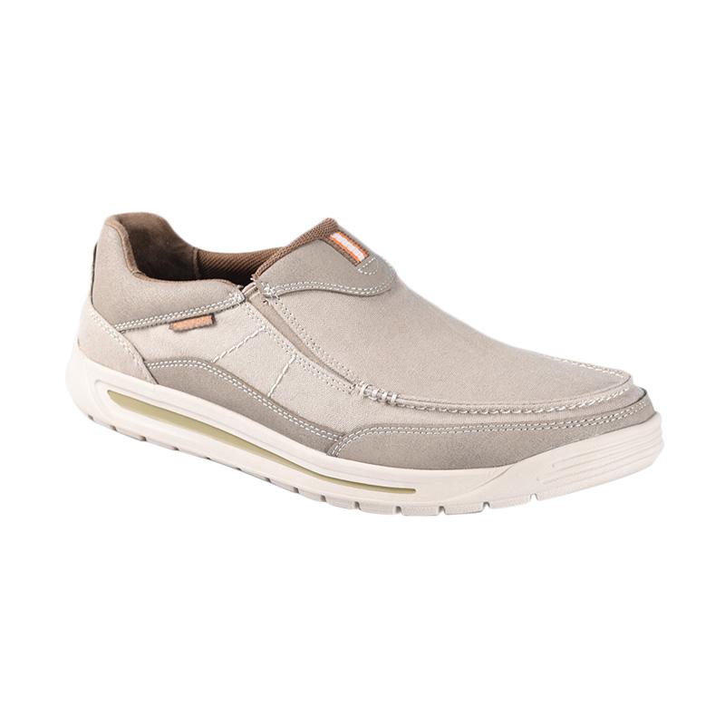 Rockport H80015 Randle Slip On Sepatu Pria - Sand
