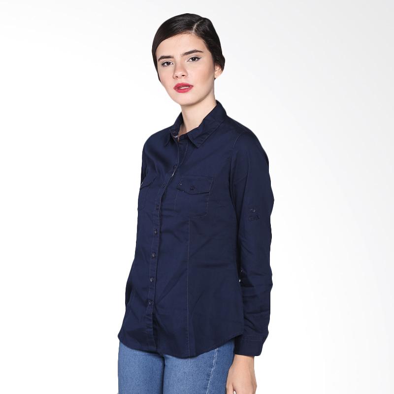 Rodeo Basic Shirt Polos 26.0601.2NV Atasan Wanita - Navy