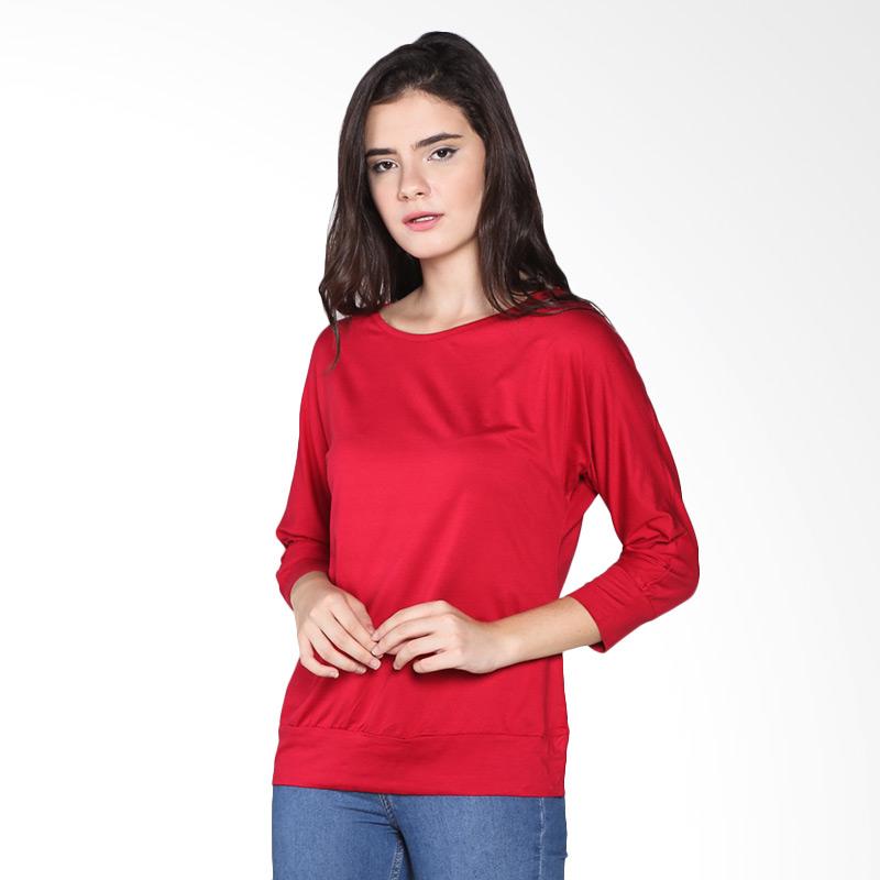 Rodeo Batwing Knitwear 26.0503.RED Atasan Wanita - Red