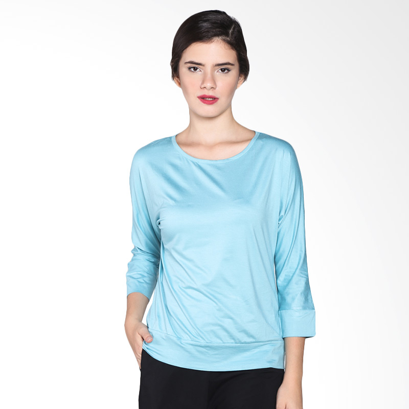 Rodeo Batwing Knitwear Polos 26.0624.TCS Atasan Wanita - Tosca