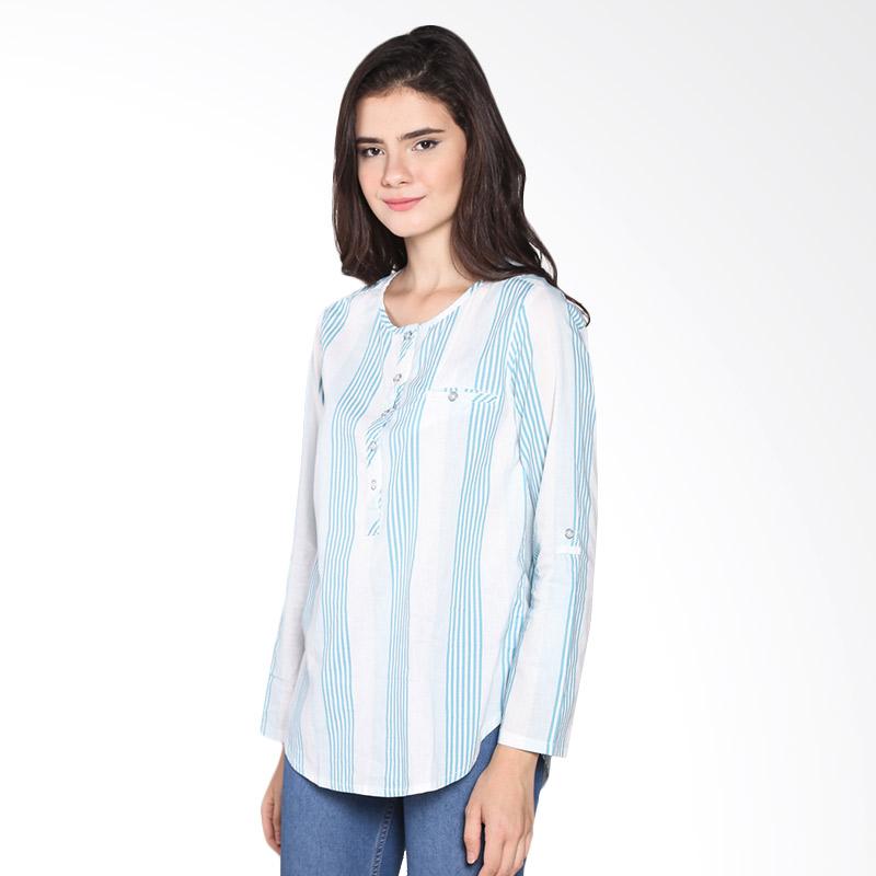 Rodeo Blouse Shirt Motif 26.0618.TSC Atasan Wanita - Tosca