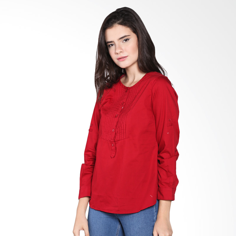 Rodeo Blouse polos 26.0101 Shirt - Red