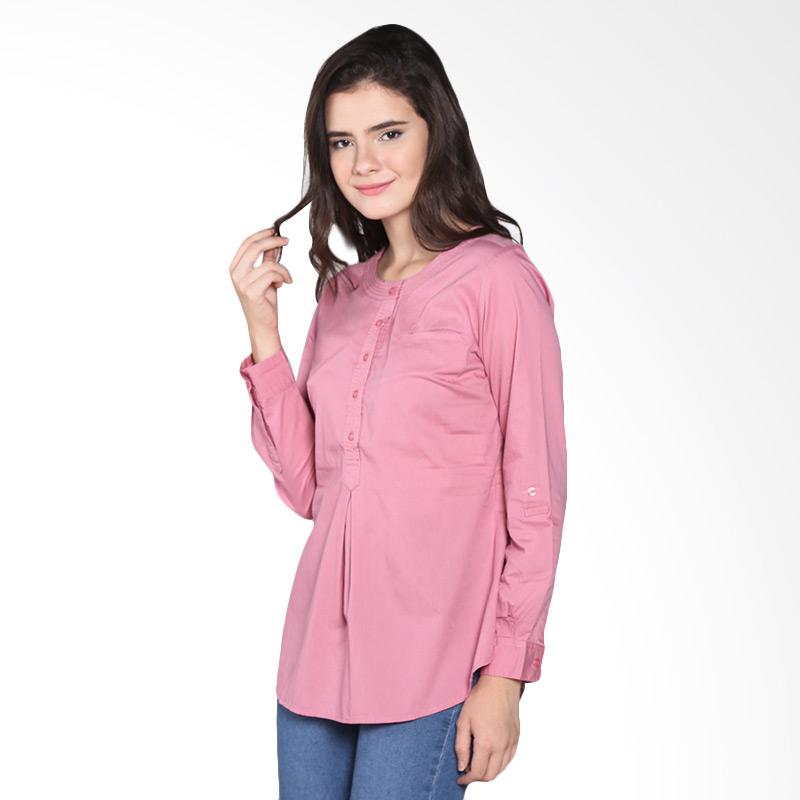 Rodeo Blouse Shirt Polos 26.0604.PNK Atasan Wanita - Pink