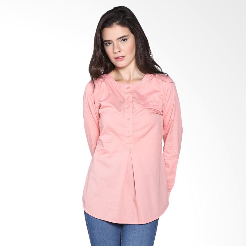 Rodeo Blouse Shirt Polos 26.0605.BLS Atasan Wanita - Pink Blossom