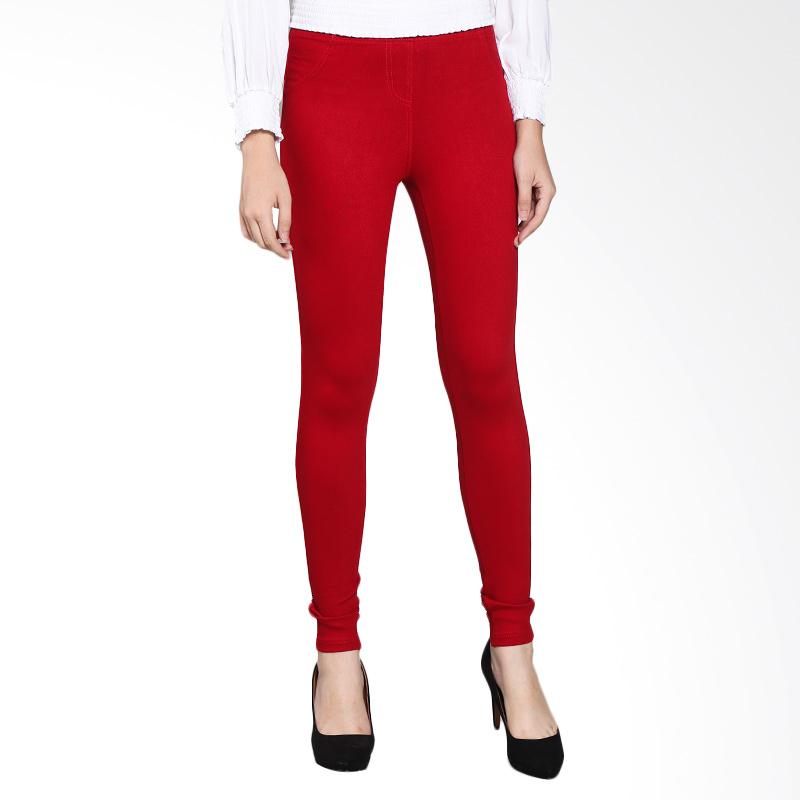 Rodeo Long Pants Skinny Jegging 66L.1005.RED Celana Wanita - Red