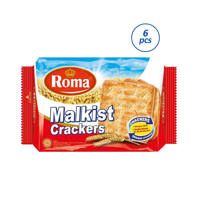 Roma Malkist Crackers [135 g/6 pack] 310278