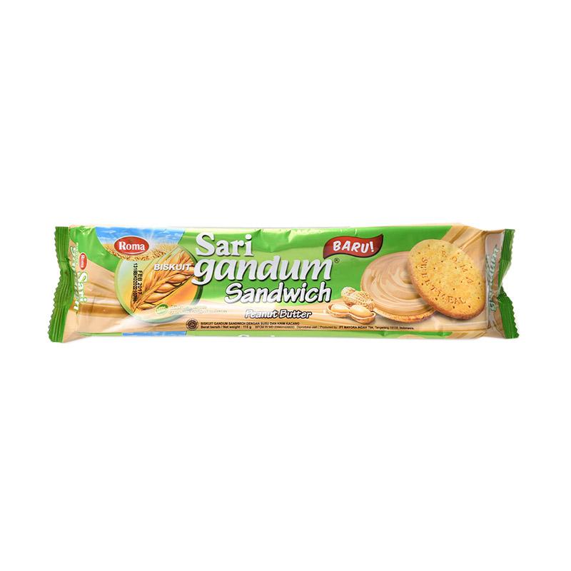 Roma Sari Gandum Peanut [115 g] 310179