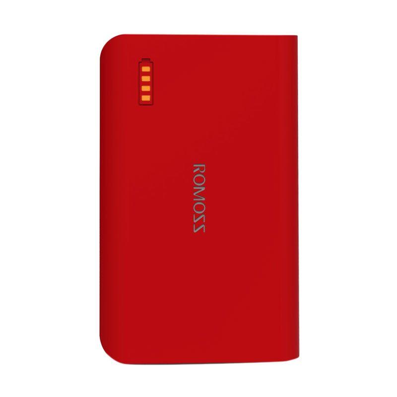 Romoss Solo 3 Merah Powerbank [6000 mAh] - Simple Pack