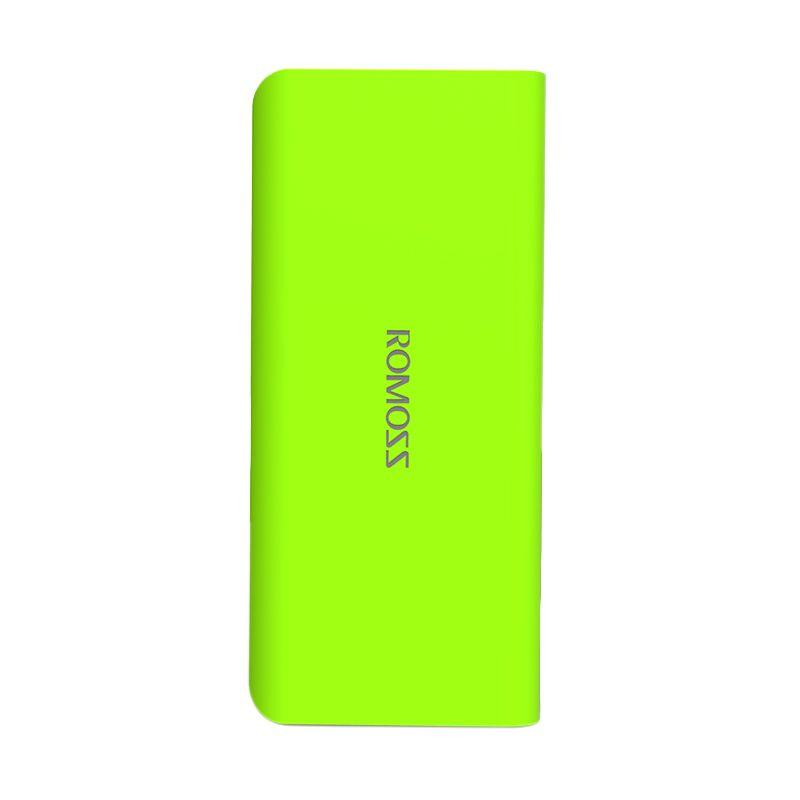 Romoss Solo 5 Hijau Stabilo Powerbank [10000 mAh/Garansi Resmi] - Simple Pack