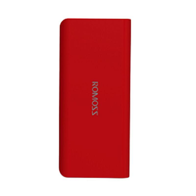 Romoss Solo 5 Merah Powerbank [10000 mAh/Garansi Resmi] - Simple Pack
