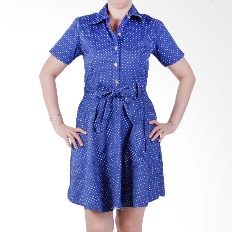 Ronaco Casanova Dress - Biru