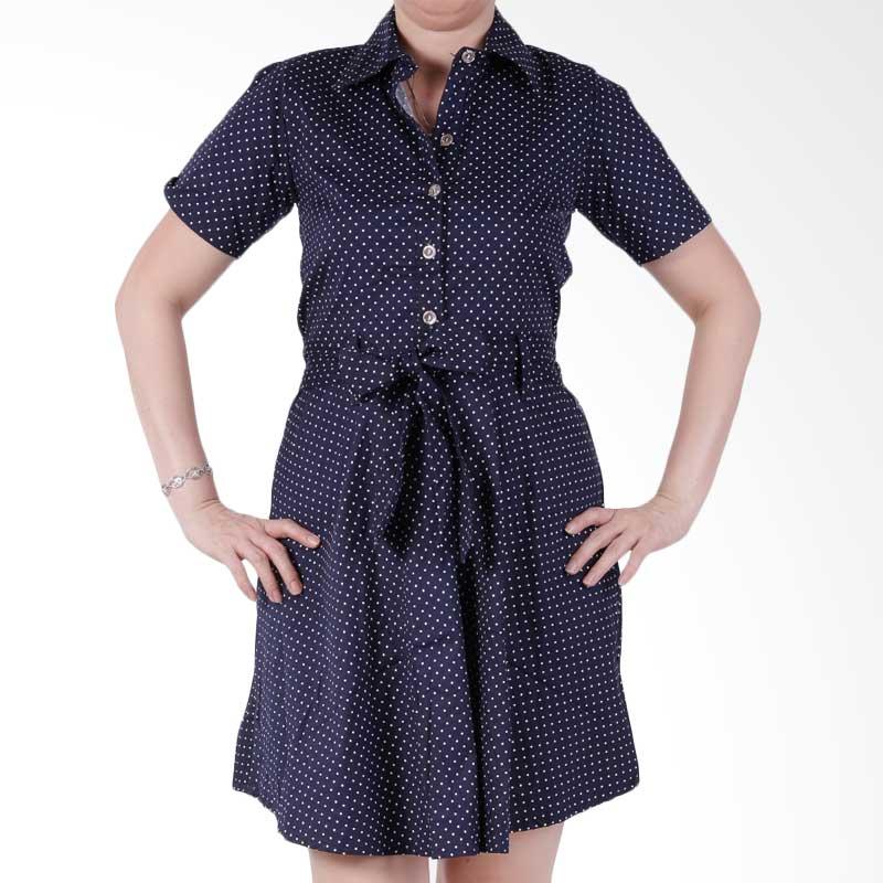 Ronaco Casanova Dress - Navy Baju