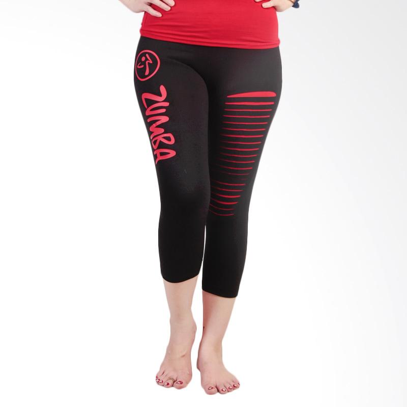Ronaco T001 Celana Senam Wanita - Black Red