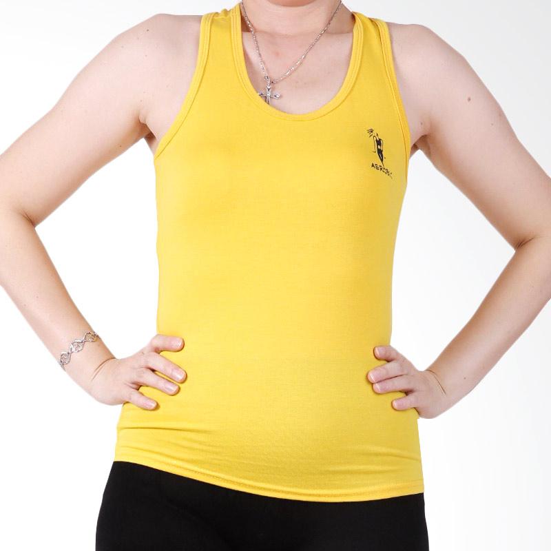 Ronaco T002A Sport Baju Senam Wanita - Kuning