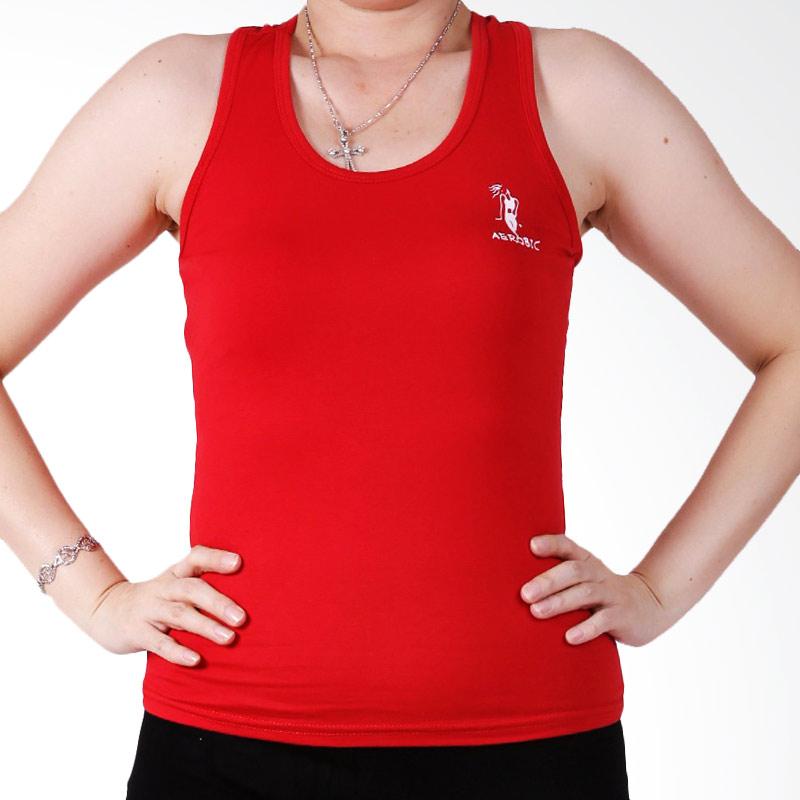 Ronaco T002A Sport Baju Senam Wanita - Merah