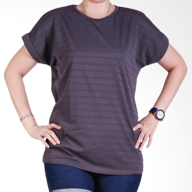 Ronaco Tshirt Women Type 447 Atasan Wanita - Abu Tua