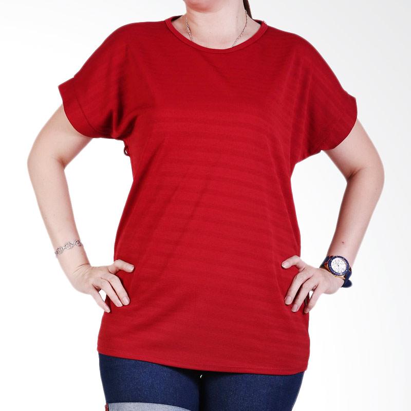 Ronaco Tshirt Women Type 447 Atasan Wanita - Merah
