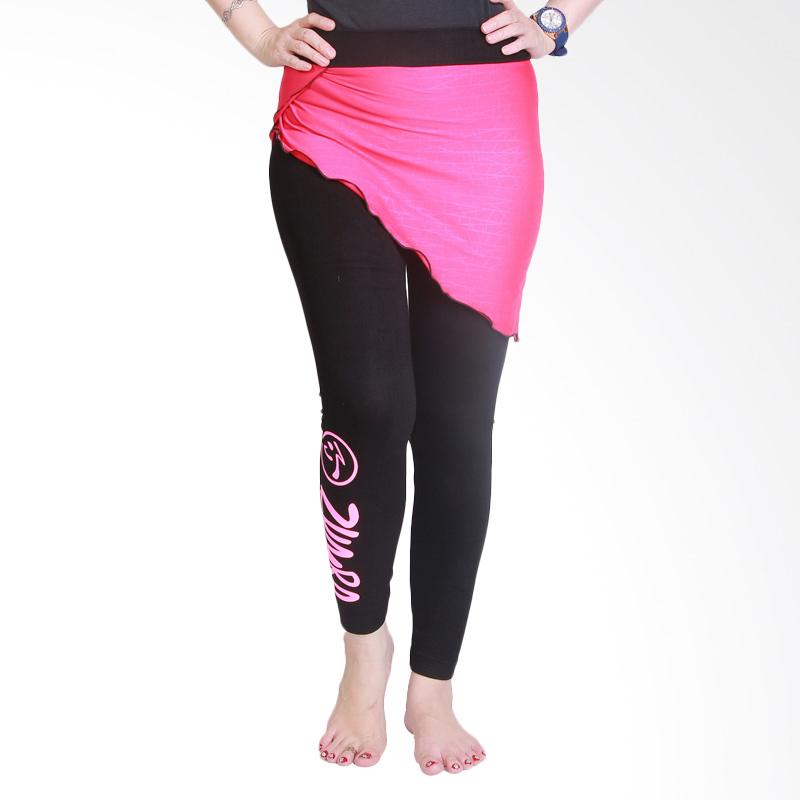 Ronaco T0071 Celana Senam Wanita - Hitam Pink