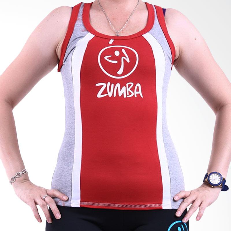 Ronaco Zumba T-AD02 Baju Senam Wanita - Merah