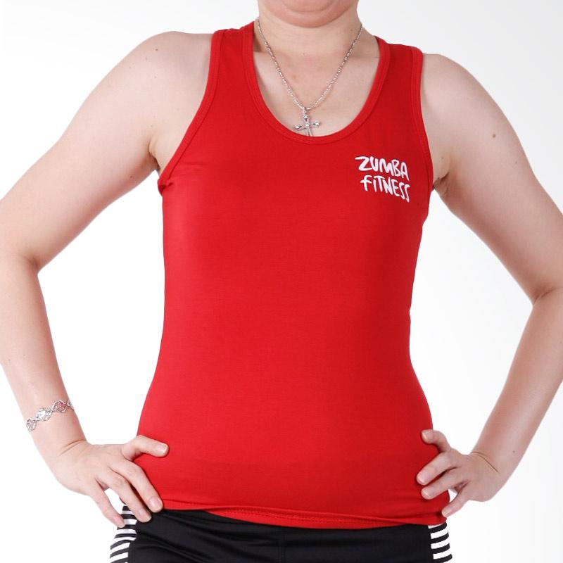 Rekomendasi Seller - Ronaco Zumba T00E Baju Senam Wanita - Merah