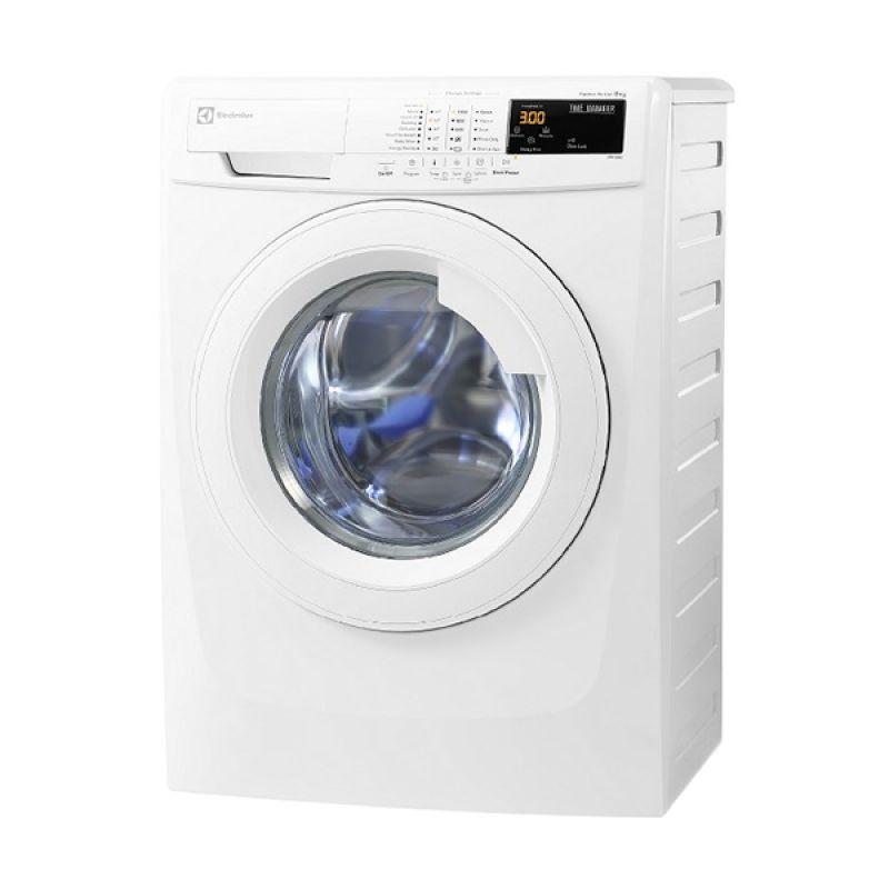 Electrolux Washer FL EWF10843 Putih Mesin Cuci [8 kg]