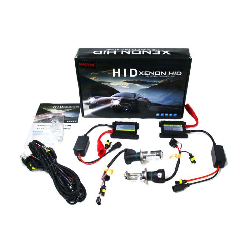 Macrone HID Lamp H4 8000 K Lampu Mobil