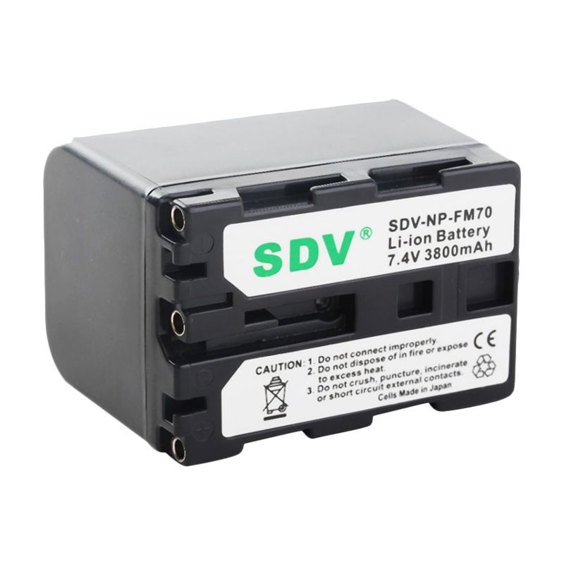 SDV FM / SQ-70 Baterai Camcorder for Sony [2600 mAh]