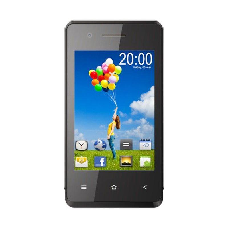 Aldo AS7 Hitam Smartphone [4 Inch]