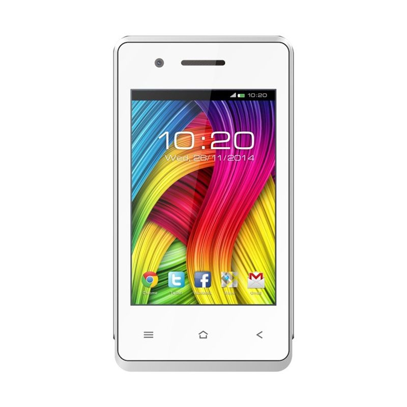 Aldo AS7 Putih Smartphone [4 Inch]