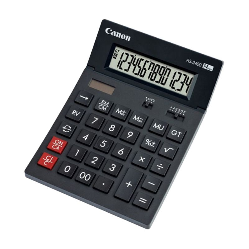 Canon AS 2400 Kalkulator [14 Digit]