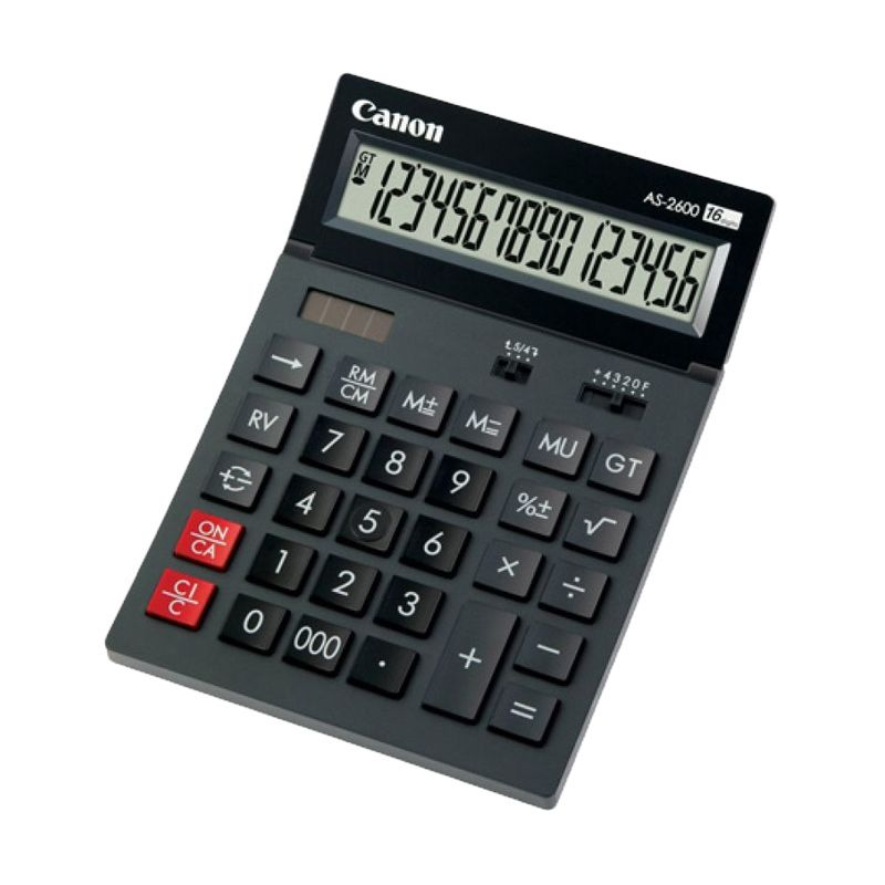 Canon AS 2600 Kalkulator [16 Digit]