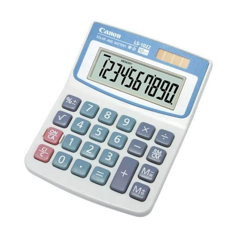 Canon Desktop LS 102 Z HB Kalkulator [10 Digit]