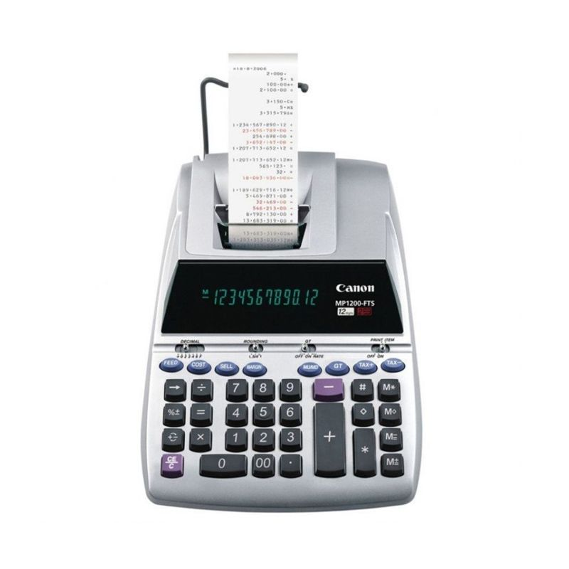 Canon Desktop MP 1200 FTS Printing Calculator