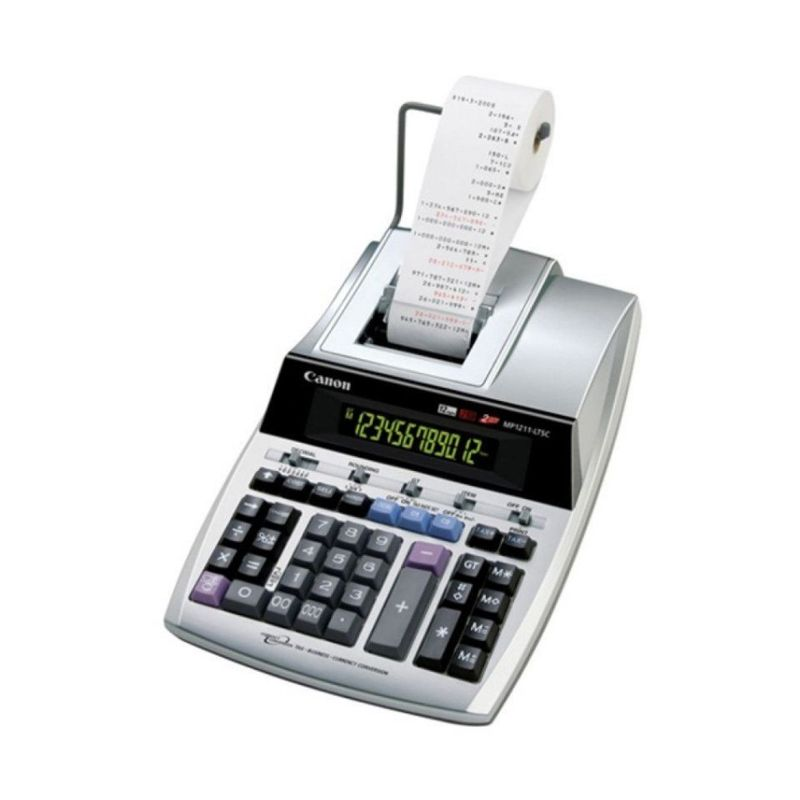 Canon Desktop MP 1211 LTSC Printing Calculator