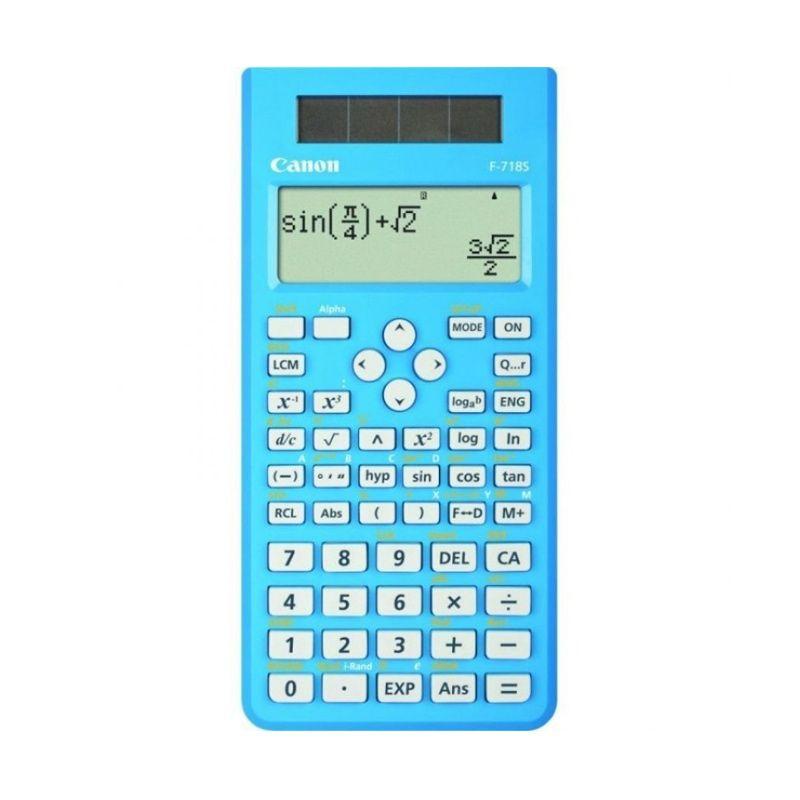 Canon Dot Matrix Scientific F 718S BL Biru Kalkulator Scientific