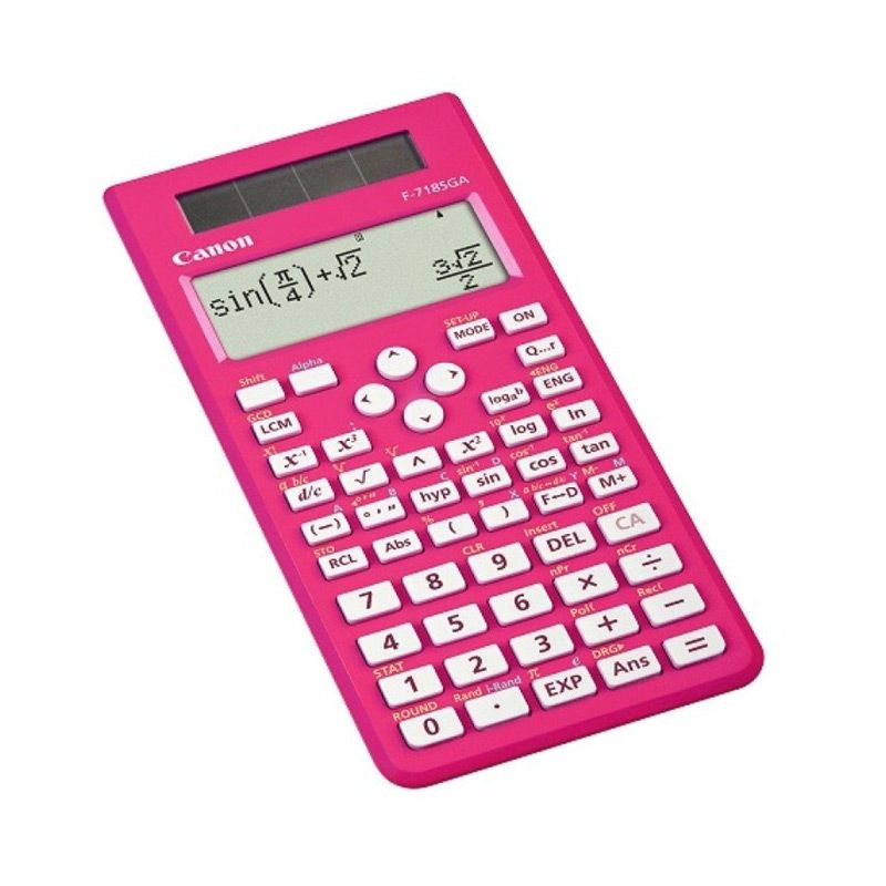 Canon Dot Matrix Scientific F 718SGA Pink Kalkulator Scientific