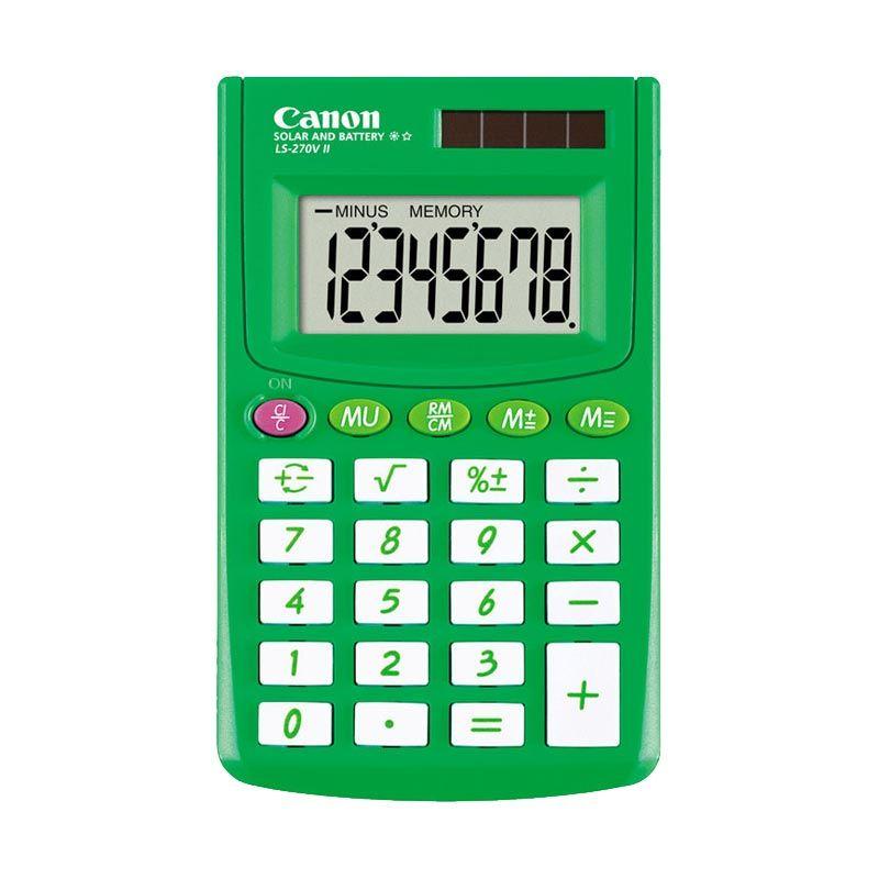 Canon Handheld LS 270V II Green Kalkulator [8 Digit]