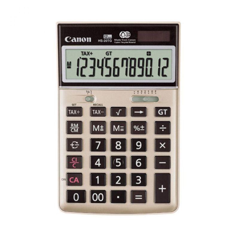 Canon Desktop HS 20 TG Kalkulator [12 Digit]