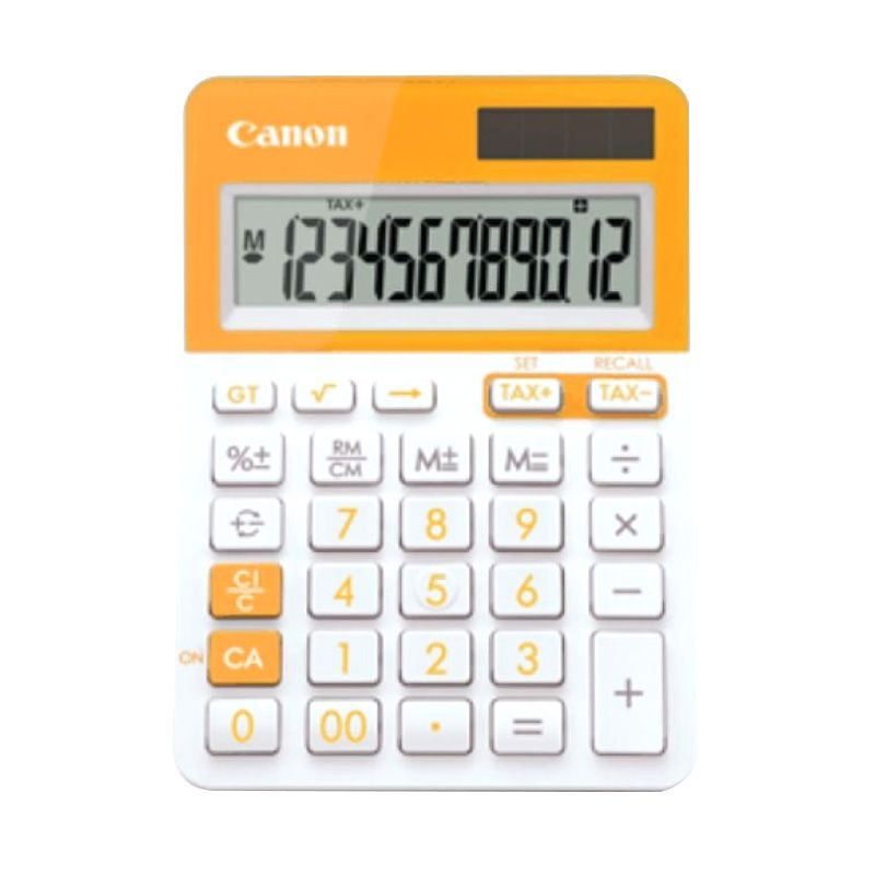 Canon LS 123T Orange Kalkulator [12 Digit]