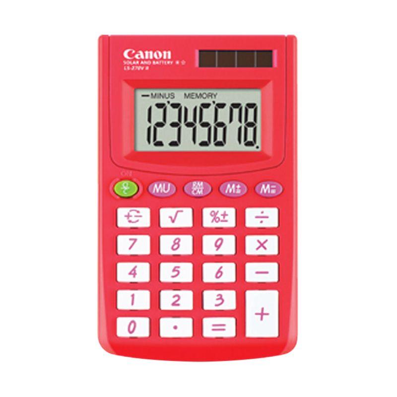 Canon LS 270V II Summer Merah Kalkulator [8 Digit]