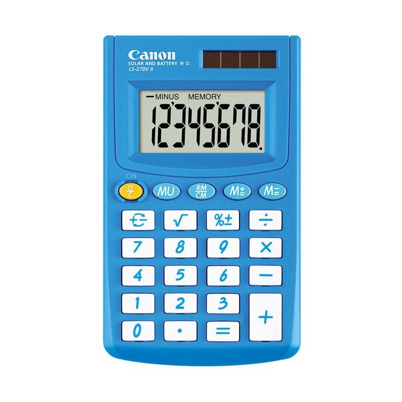 Canon LS 270V II Winter Biru Kalkulator [8 Digit]