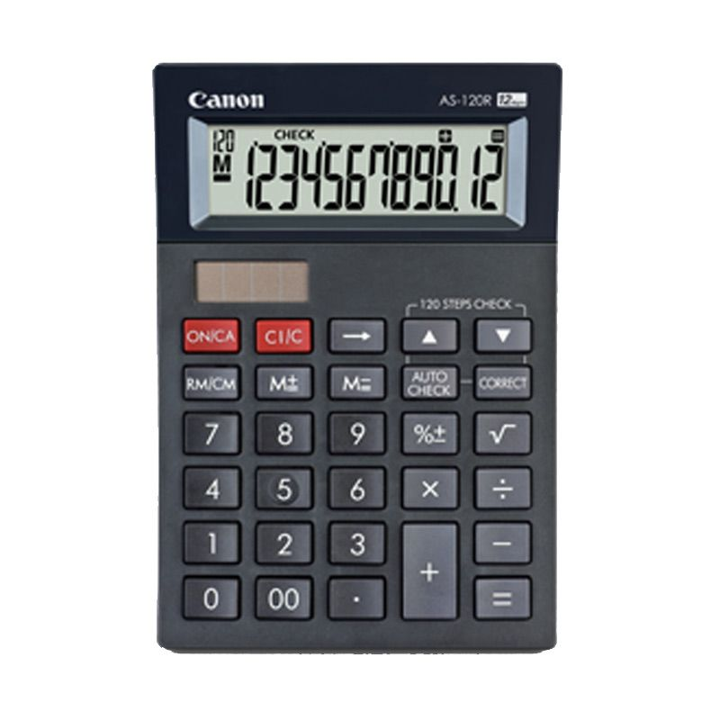 Canon Mini Desktop AS 120R Kalkulator [12 Digit]