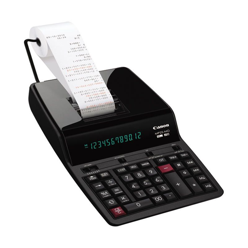 Canon MP 25 MG Printing Calculator [12 Digit]